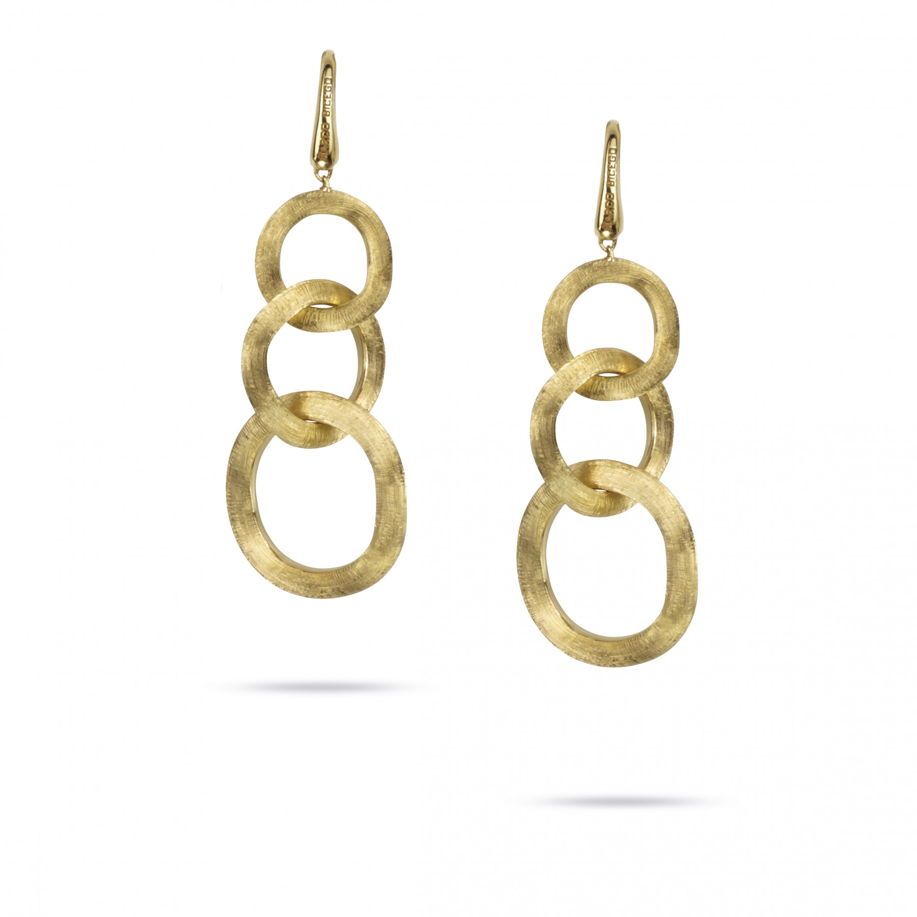 Marco Bicego Jaipur 18kt Yellow Gold 3 Link Dangle Earrings