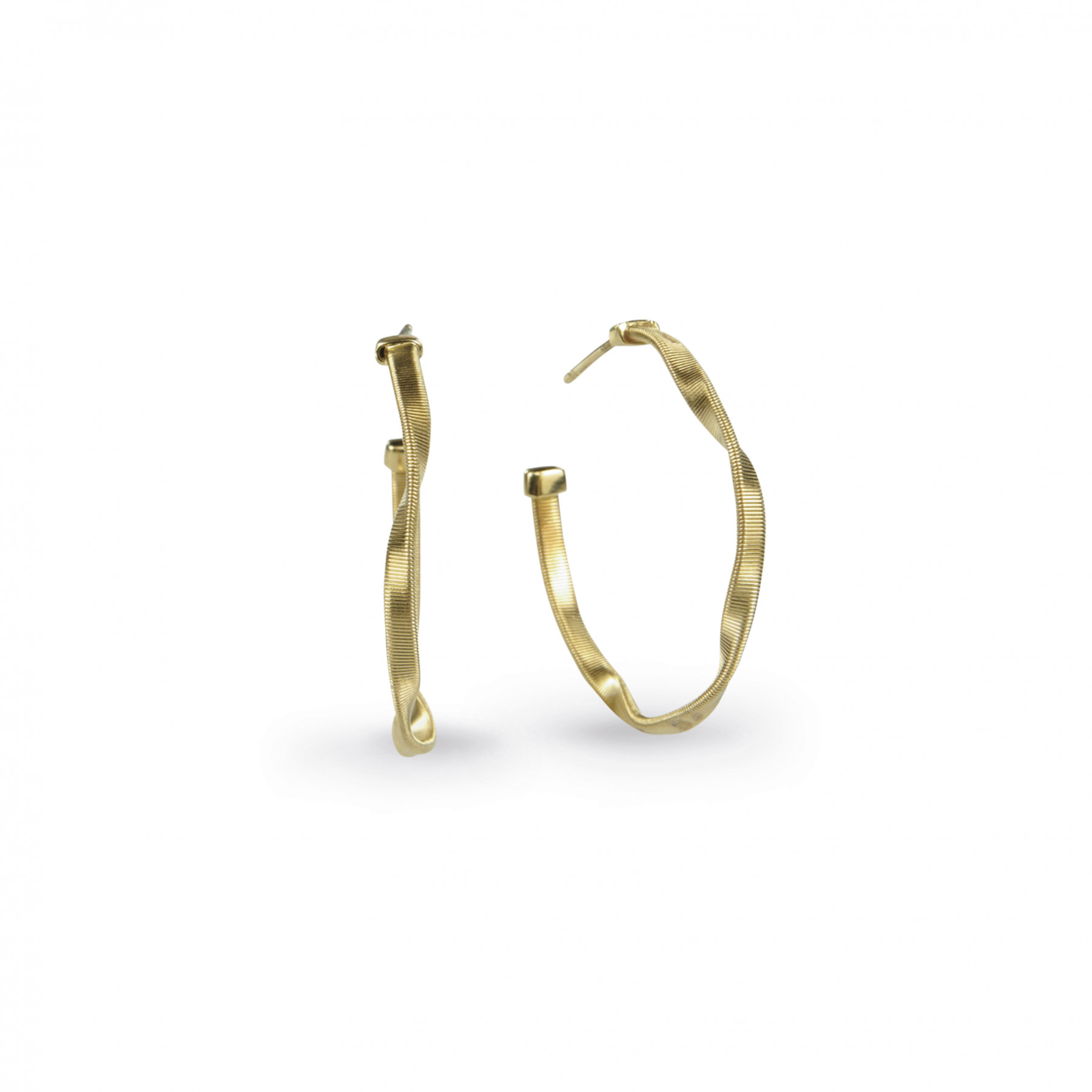 Marco Bicego Marrakech Yellow Gold Hoop Earrings