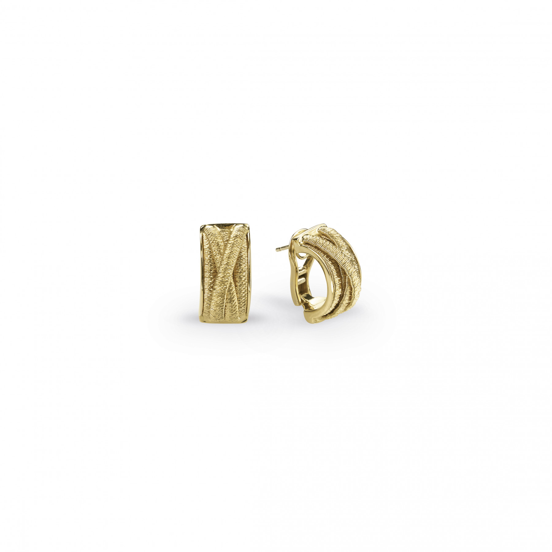 Marco Bicego Il Cairo Multi-Strand Earrings in 18kt Yellow Gold