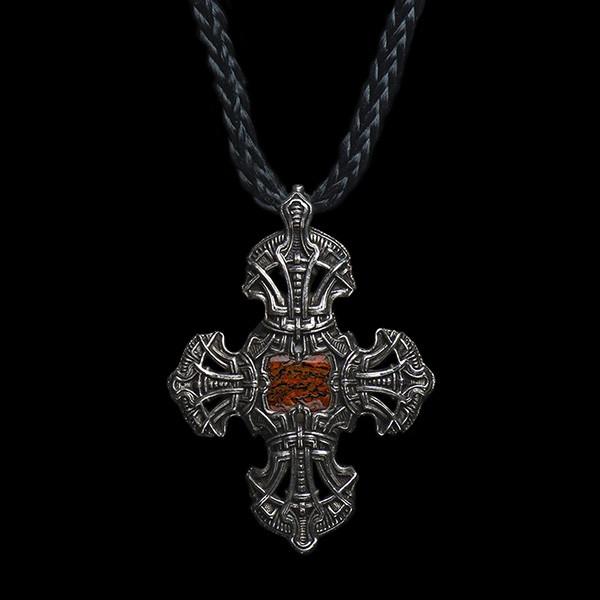 William Henry Kells Cross III Pendant Necklace