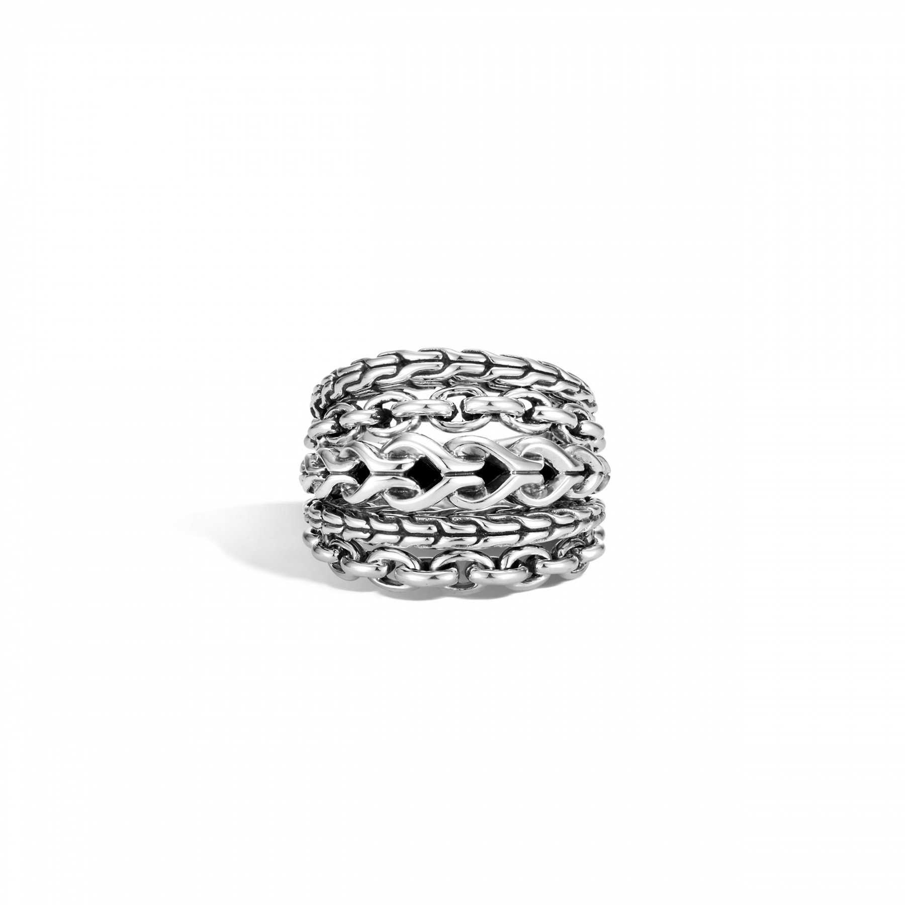 John Hardy Asli Classic Chain Link Ring front view