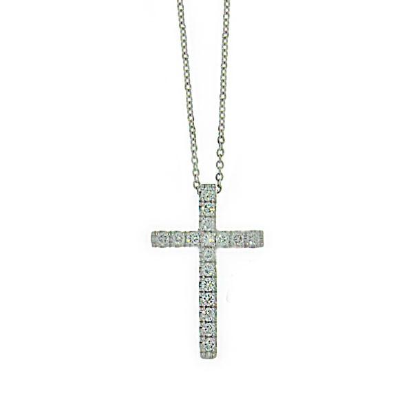 Roberto Coin Classic Cross Pendant