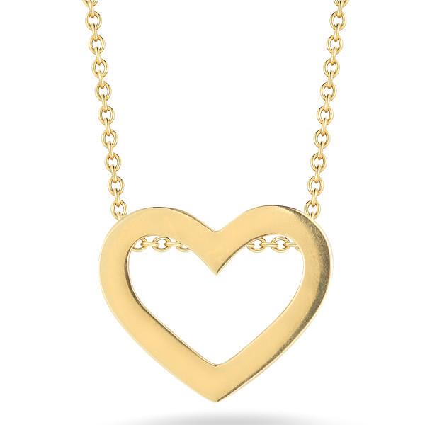 Roberto Coin Gold Heart Pendant