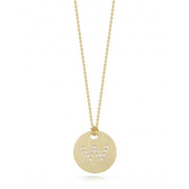 Roberto Coin Tiny Treasures Medallion Necklace