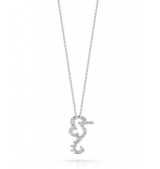 Roberto Coin Tiny Treasures Seahorse Necklace