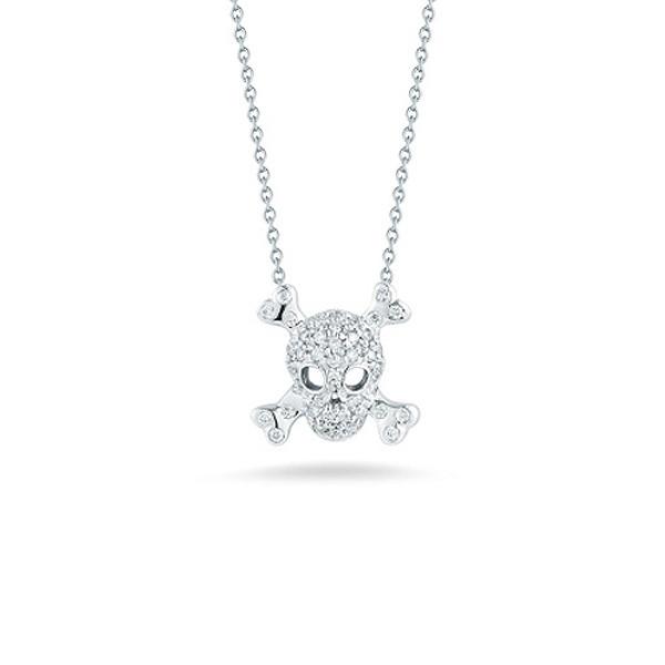 Diamond Skull And Crossbones
