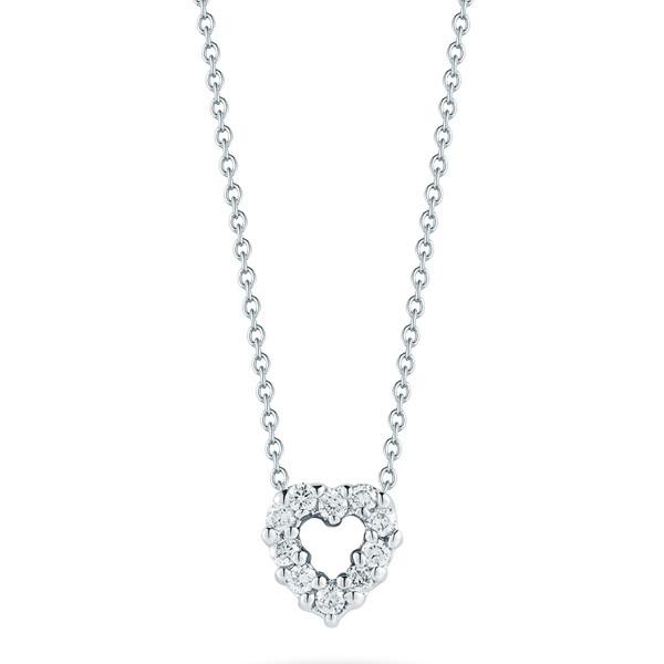 Roberto Coin Heart Diamond Necklace