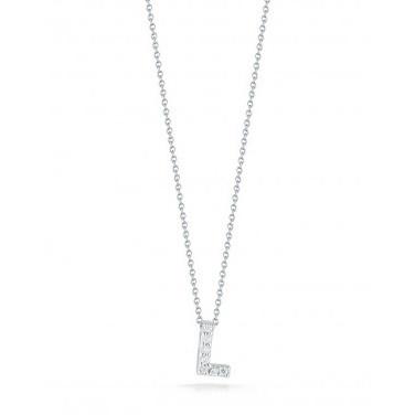 Diamond Initial L Necklace