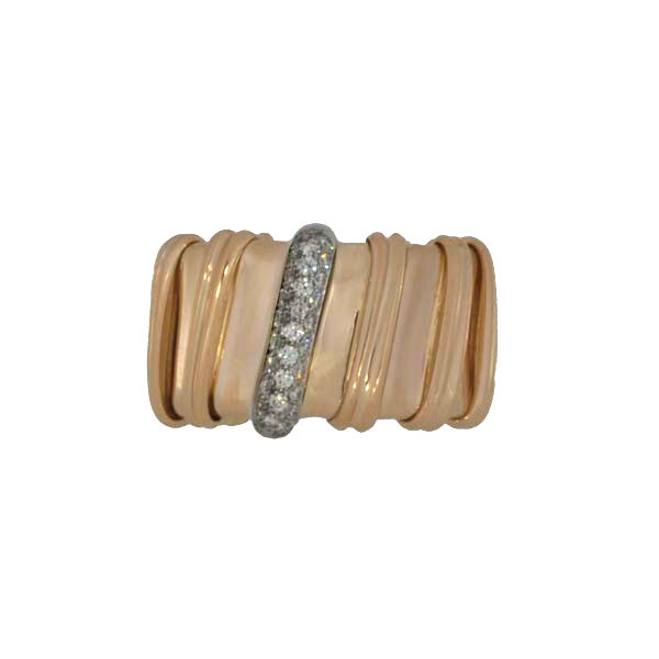 Roberto Coin Nabucco Rose Gold Ring