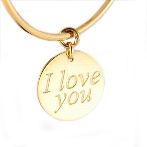 Roberto Coin Love Plus 18K Yellow Gold Dangle Earrings