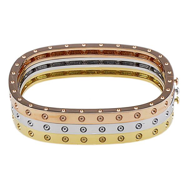 Roberto Coin Pois Moi SIngle Bangle Bracelet