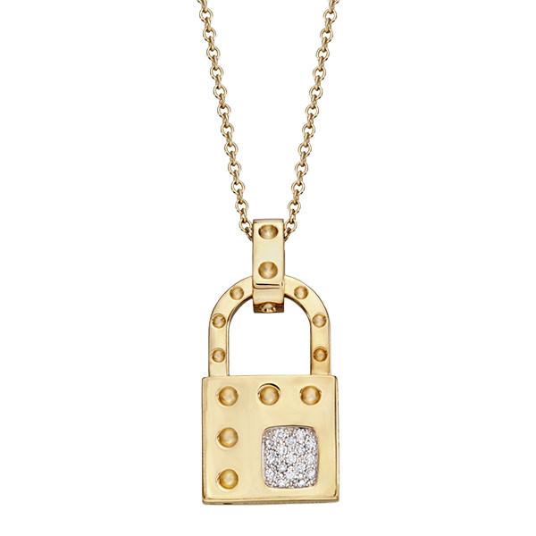 Roberto Coin Pois Moi Locket With Diamonds