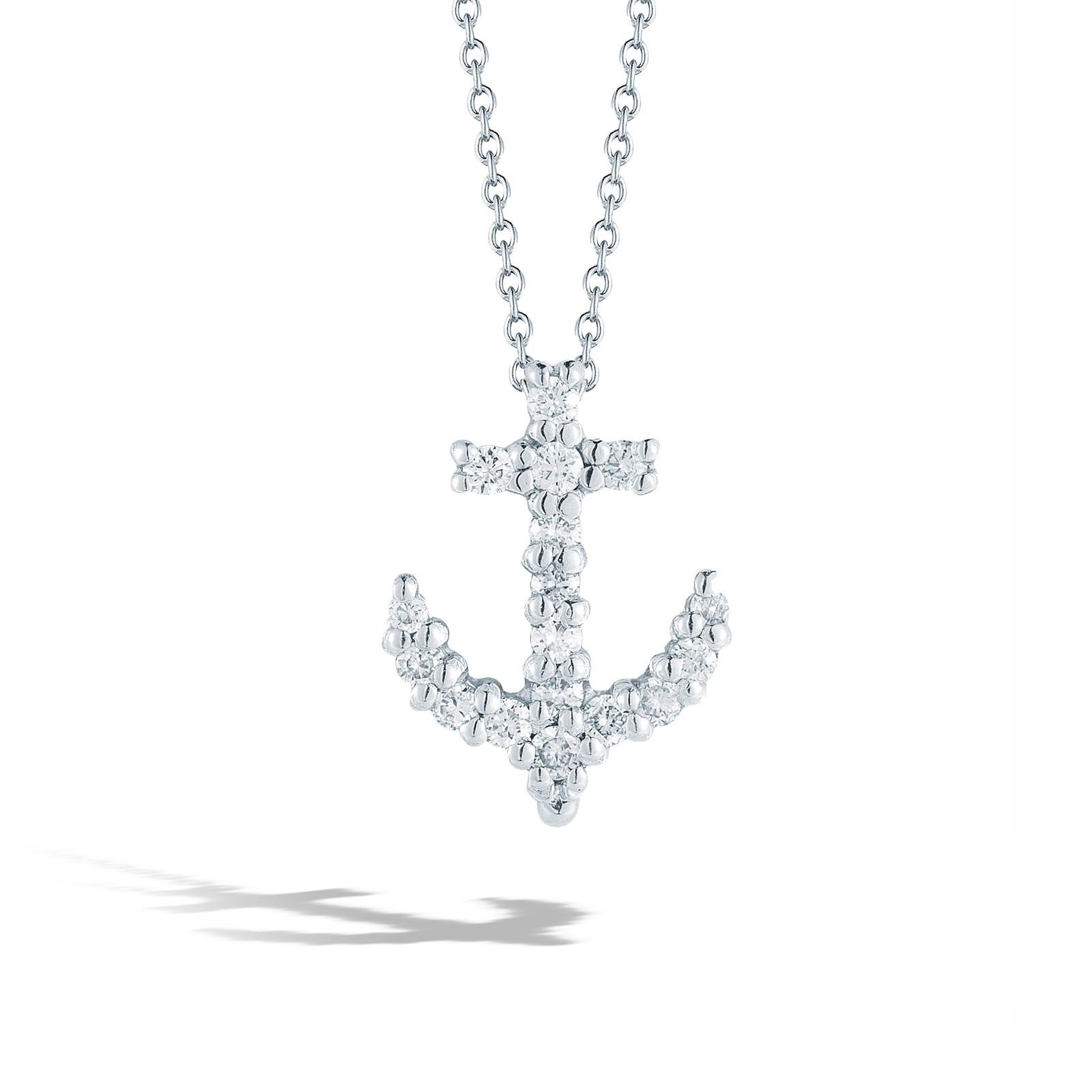 Roberto Coin Anchor Necklace
