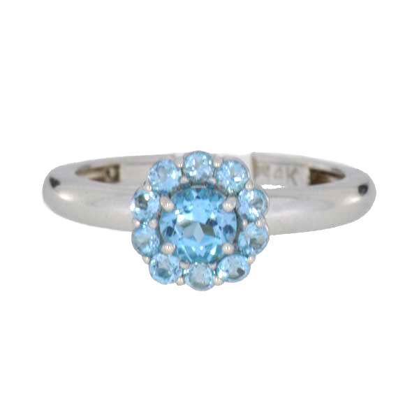 Color My Life Blue Topaz Ring