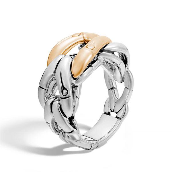 John Hardy Bamboo Two Tone Ring