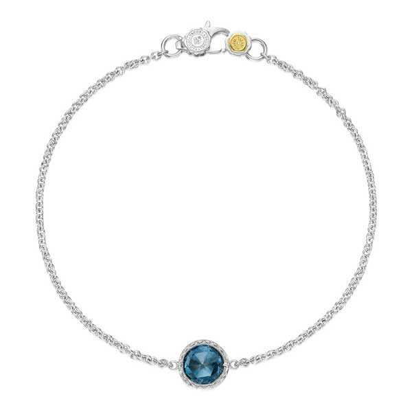 Tacpri Island Rains London Blue Topaz Bracelet