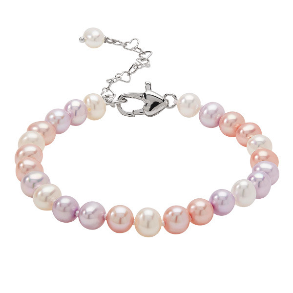 Honora Candy Color Potato Freshwater Girls Cultured Pearl Bracelet