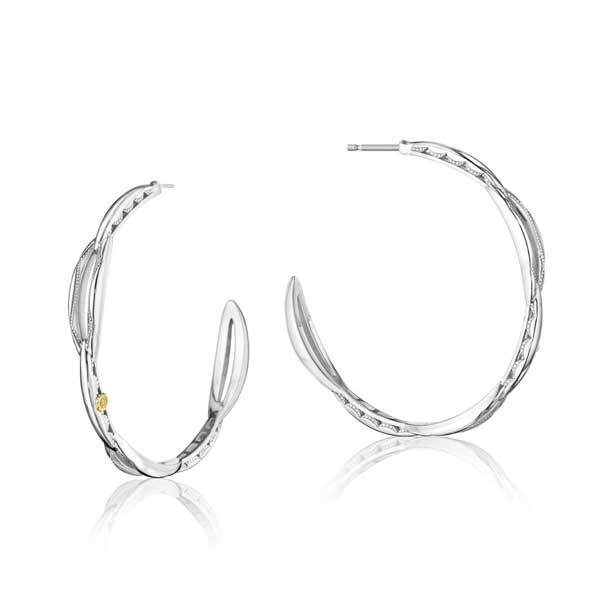 Tacori The Ivy Lane Large Crescent Hoop Earrings