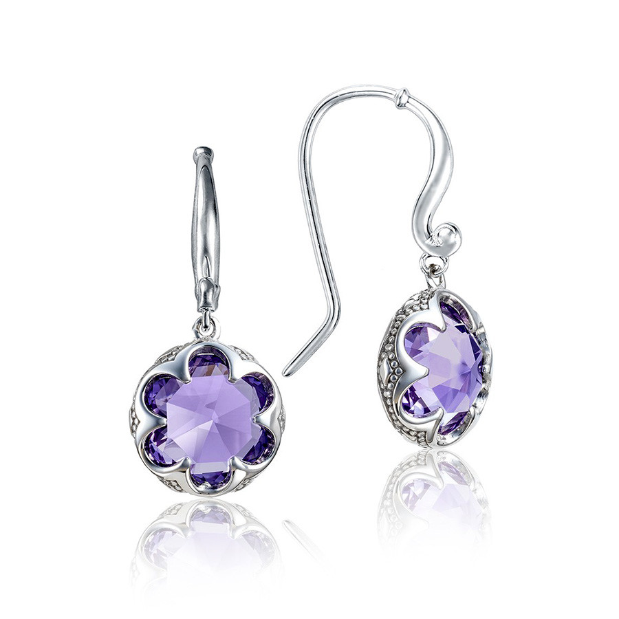 Tacori Amethyst Crescent Drop Sonoma Skies Earrings