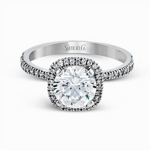 Simon G. Passion Engagement Ring Setting