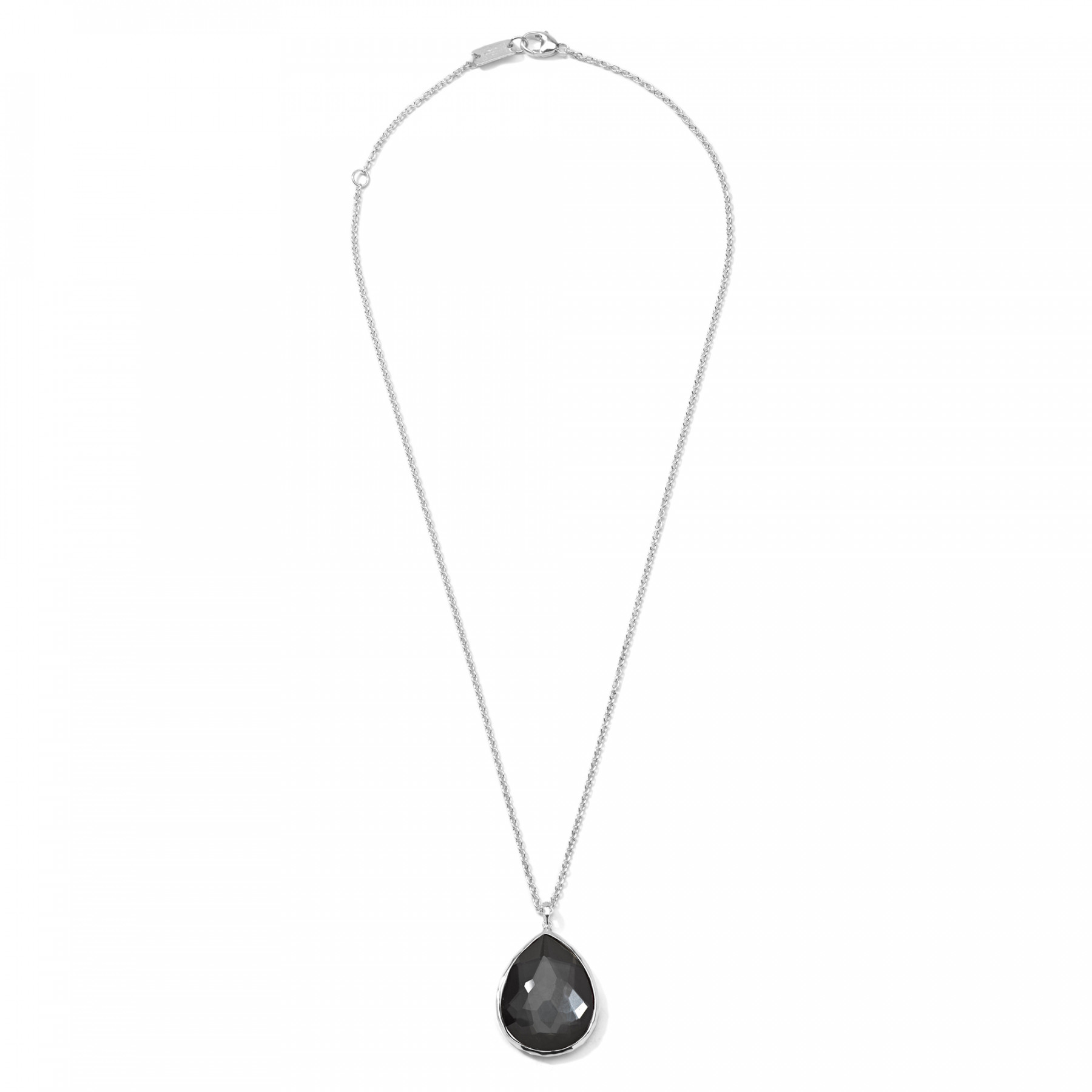 Ippolita Rock Candy Hematite Necklace in Sterling Silver