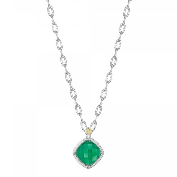 Tacori Green Onyx Necklace