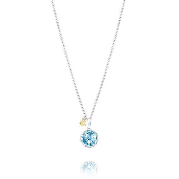 Tacori Sonoma Skies Blue Topaz Necklace