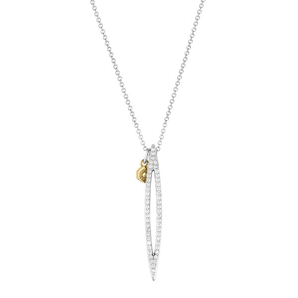 Tacori The Ivy Lane Diamond Open Marquise Necklace