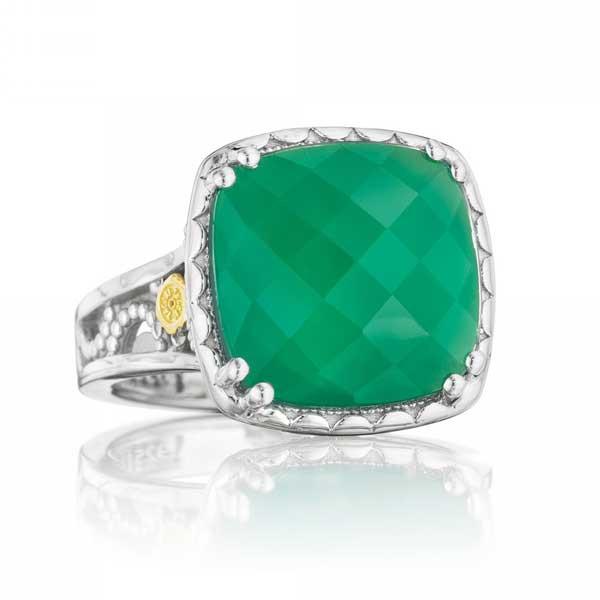 Tacori Onyx Envy Green Onyx Ring