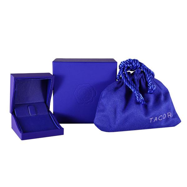 Tacori Stackable Island Rains London Blue Topaz Medium Station Ring Tacori Packaging