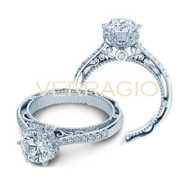 Verragio Venetian Pave Engagement Setting