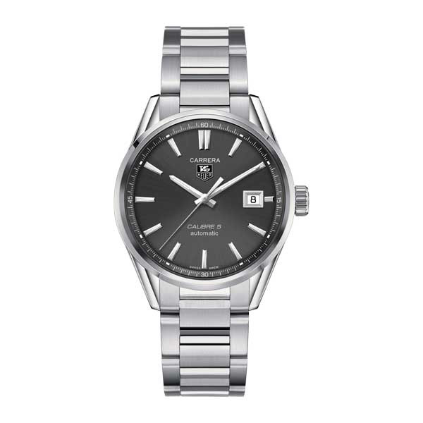 Tag Heuer Carrera Calibre 5 Automatic Grey 39mm Watch