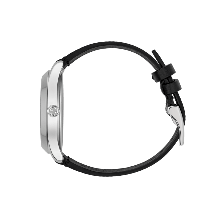 Gucci G-Timeless Black Hologram Watch - 38mm Steel Case side