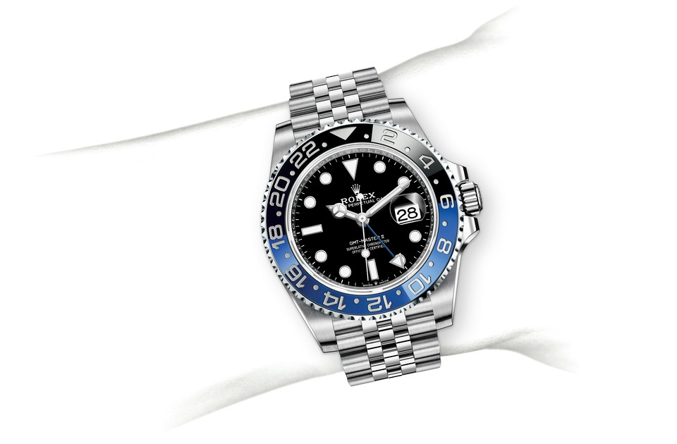 Rolex GMT-Master II M126710BLNR-0002 on Wrist