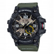 Casio Master of G Mudmaster Stainless Steel Black & Green G-Shock Watch