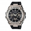 Casio G-Steel G-Shock Black & Silver Solar Watch