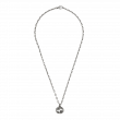 Gucci Interlocking G Small Link Necklace in Sterling Silver main view