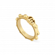 Gucci GG Running Studded 18K Gold Ring main image