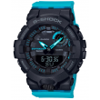 G-Shock S Black and Blue Digital Sports Watch – 50.7mm