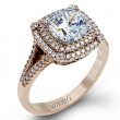 Simon G MR2378-A Passion Double Halo Engagement Setting