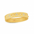 Roberto Coin Venetian Princess Diamond Bangle in 18K Yellow Gold