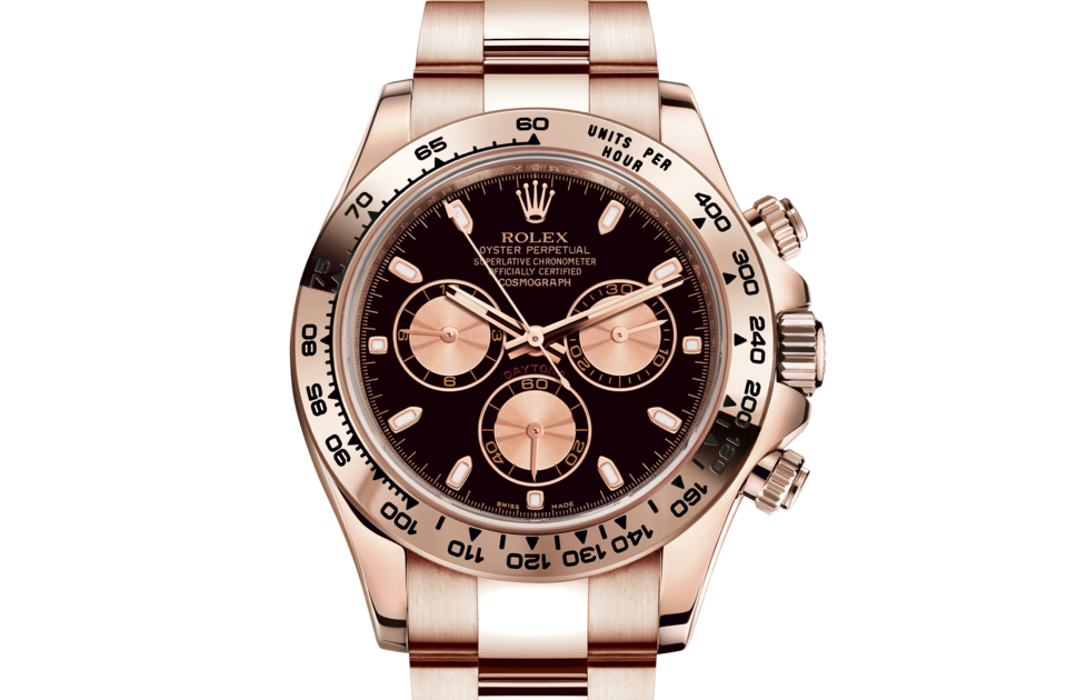 Rolex Cosmograph Daytona M116505-0008 Cosmograph Daytona M116505-0008 Watch Front Facing