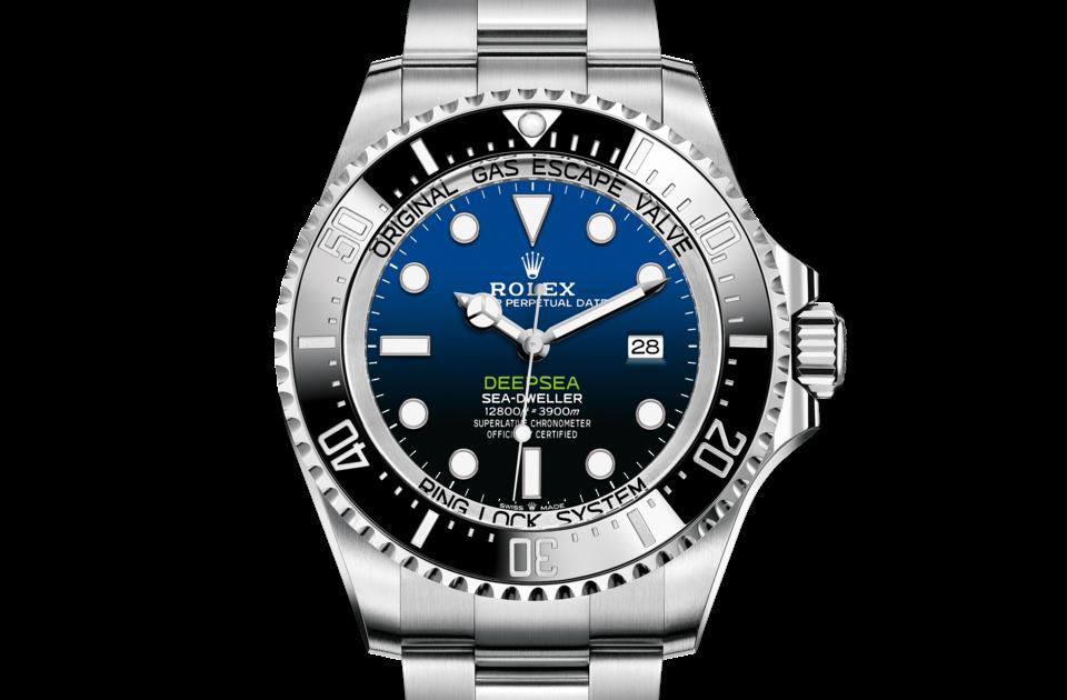 Rolex Deepsea D-Blue dial M126660-0002 Front