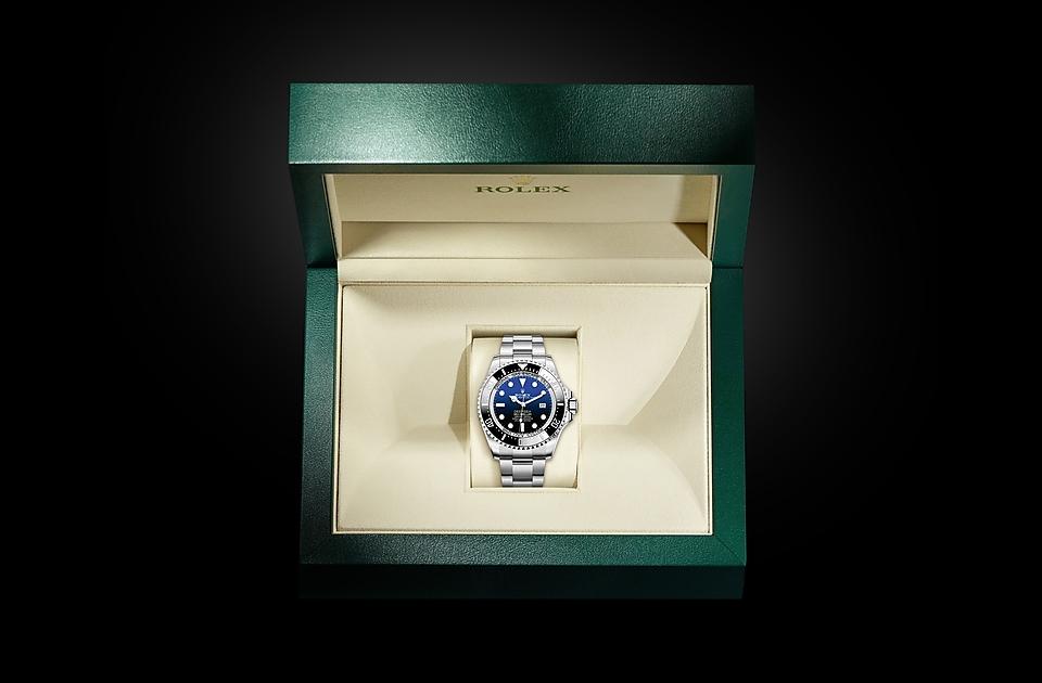 Rolex Deepsea D-Blue dial M126660-0002 Box