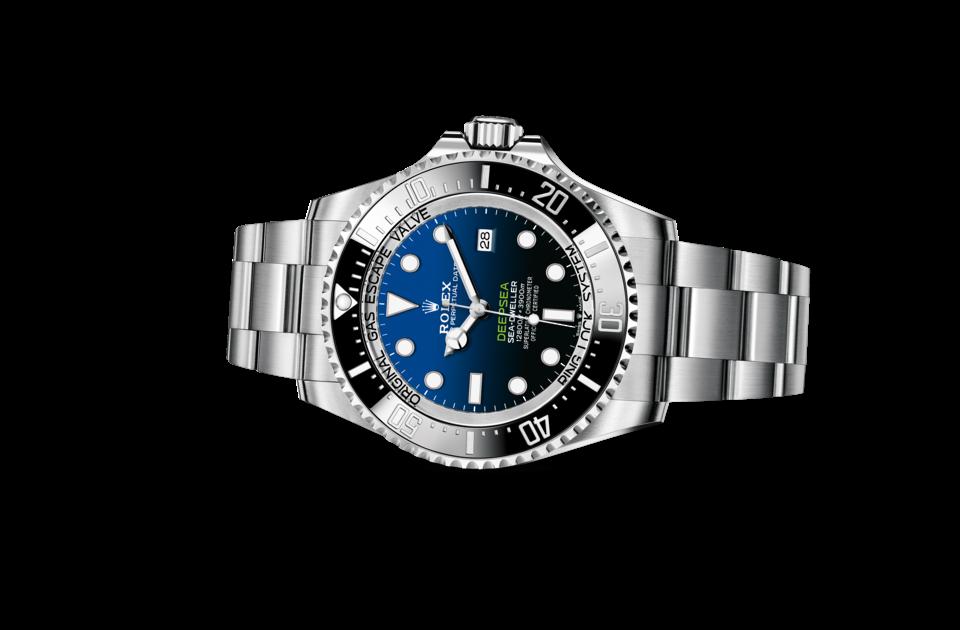 Rolex Deepsea D-Blue dial M126660-0002 Laying