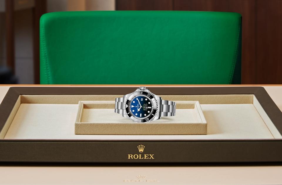 Rolex Deepsea D-Blue dial M126660-0002 Tray