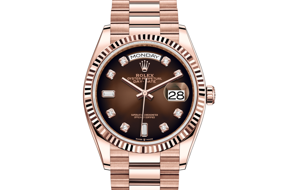 Rolex Day-Date 36 M128235-0037 Front
