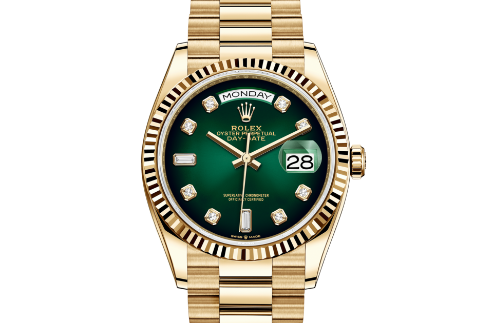 Rolex Day-Date 36 M128238-0069 Front