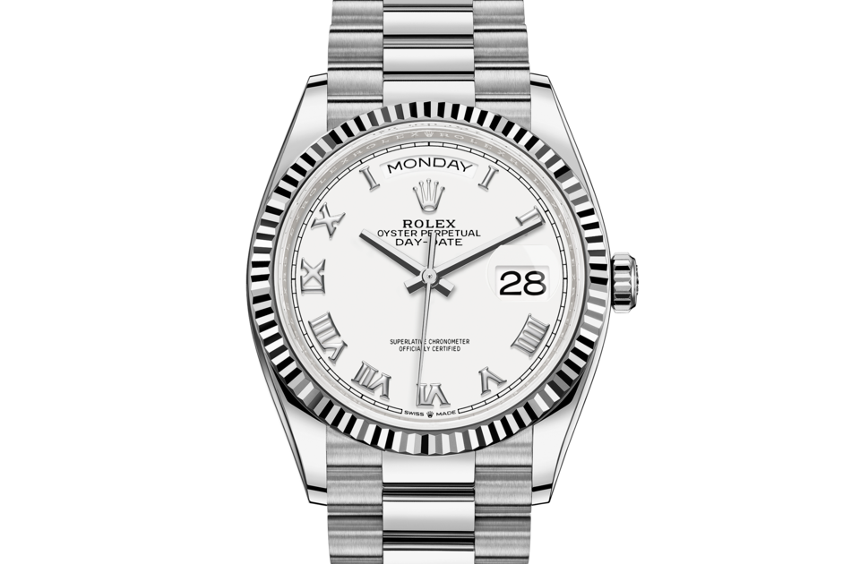 Rolex Day-Date 36 M128239-0038 Day-Date 36 M128239-0038 Watch Front Facing