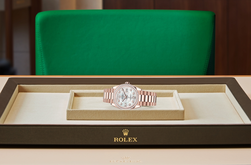 Rolex Day-Date 36 M128345RBR-0028 Tray